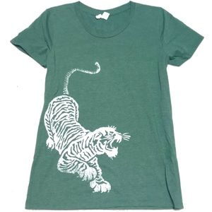 Forest Green Tiger Tee